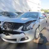 Nissan Altima - Front damage