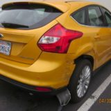 Ford Focus - Right side damage