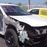 Nissan Murano - Front damage