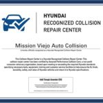 Mission Viejo Auto Collision is Certified as a Hyundai Recognized Collision Repair Center_500x394
