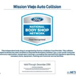 Mission Viejo Auto Collision is certified in Ford National Body Shop Network_500 x 409