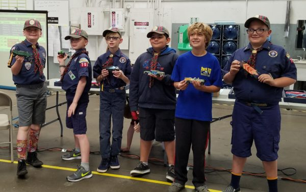 2017 Pinewood Derby Pack 703 Racers Weeblos_ Mission Viejo Auto Collision