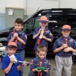 Exciting 2017 Pinewood Derby Race – Boys Scouts Pack 703