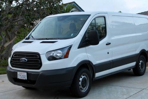 Mission Viejo Auto Collision Easter Van